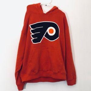 Vintage Philadelphia Flyers Hoodie Youth Small